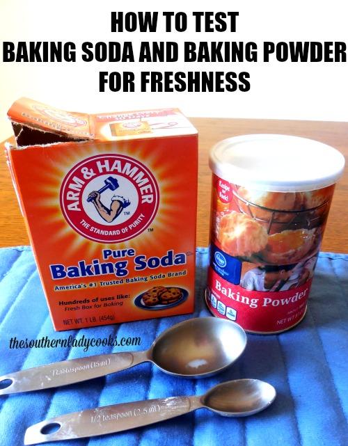 Test Baking Soda and Baking Powder