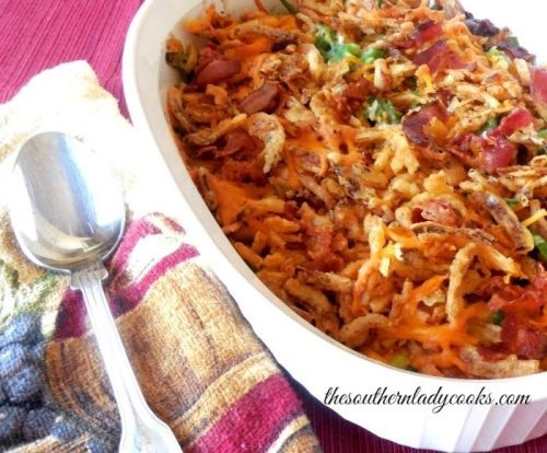 Favorite Green Bean Casserole The Southern Lady Cooks