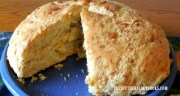 IRON SKILLET GARLIC CHEESE BREAD