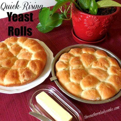 Quick Rising Yeast Rolls Recipe
