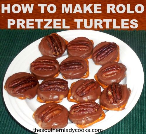 how-to-make-rolo-pretzel-turtles4