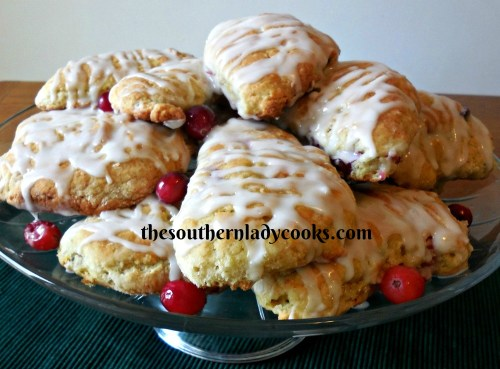 Easy Cranberry Recipes-The Southern Lady Cooks