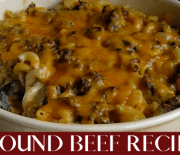 DELICIOUS GROUND BEEF RECIPES