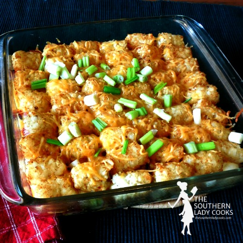 Ham and Tater Tot Casserole