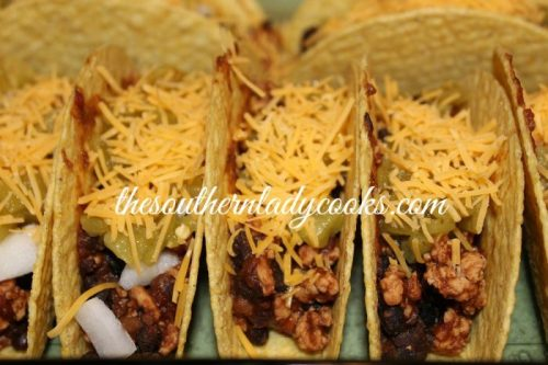 quick and easy baked tacos the southern lady cooks