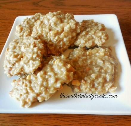 Peanut Butter Oatmeal Cookies-The Southern Lady Cooks