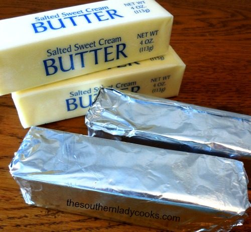 How to Freeze Butter - The Southern Lady Cooks