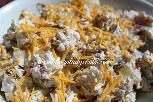 Easy Baked Potato Salad Recipe The Southern Lady Cooks