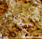 CHEESY CROCK POT PASTA WITH  ITALIAN SAUSAGE