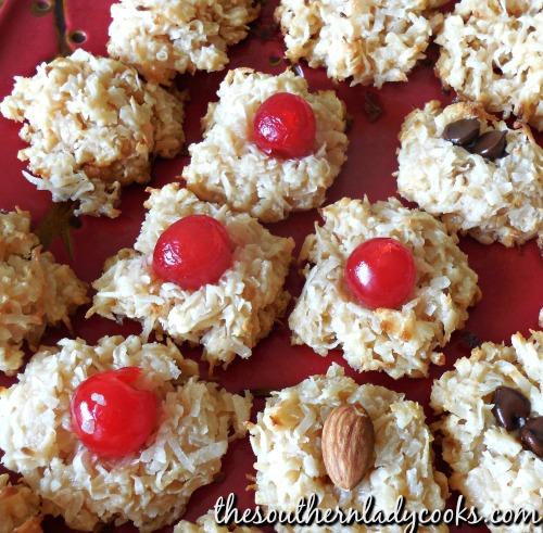 Coconut Macaroons-3 Ingredients
