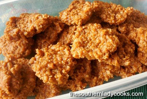 Easy No Bake Pumpkin Oatmeal Cookies The Southern Lady Cooks