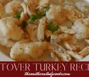 TEN LEFTOVER TURKEY RECIPES