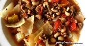BLACK-EYED PEA CABBAGE SOUP
