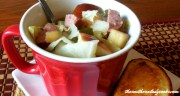 CABBAGE APPLE AND SAUSAGE SOUP