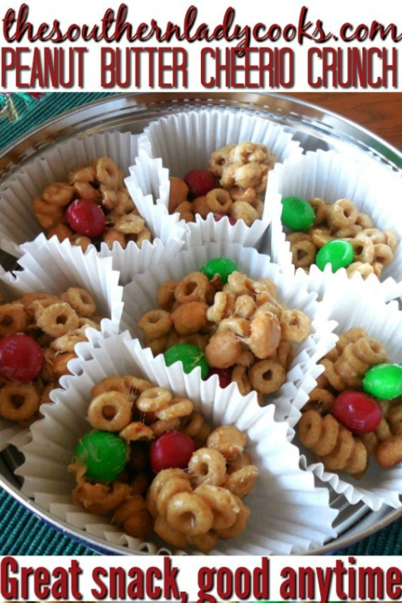 Peanut Butter Cheerio Crunch - The Southern Lady Cooks