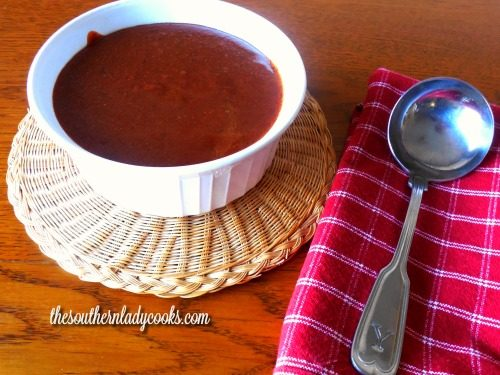 Homemade Enchilada sauce-The Southern Lady Cooks