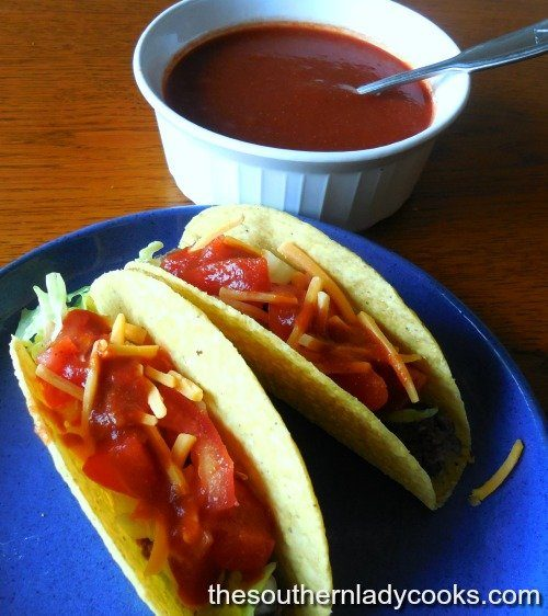 homemade taco sauce the southern lady cooks. Black Bedroom Furniture Sets. Home Design Ideas