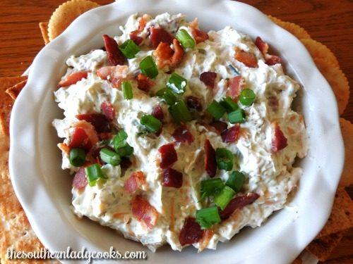 Bacon Ranch Cheese Dip
