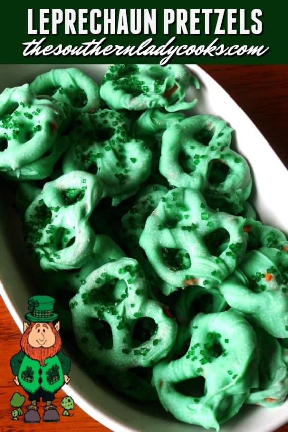 Leprechaun Pretzels