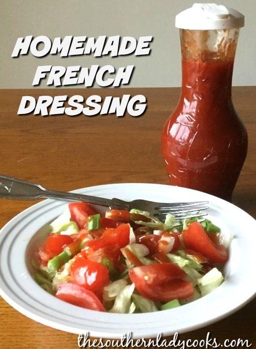 Homemade Franch Dressing