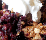 BLUEBERRY CRISP – Easy Recipe