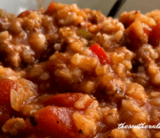 CROCK POT STUFFED PEPPER STEW