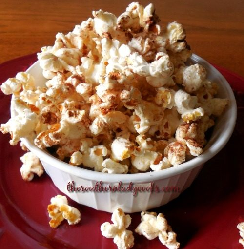 Homemade Food Gifts Cinnamon Popcorn The Southern Lady Cooks