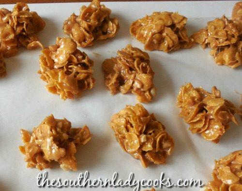 Cornflake cookies - 4 Ingredients