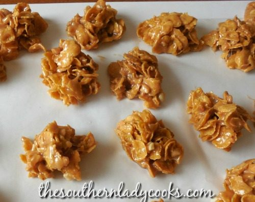 Cornflake cookies - 4 Ingredients