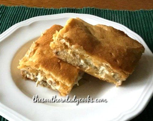 Sausage crescent bake - The Southern Lady Cooks