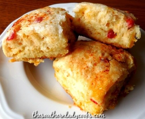 Pimento Cheese Biscuits - The Southern Lady Cooks