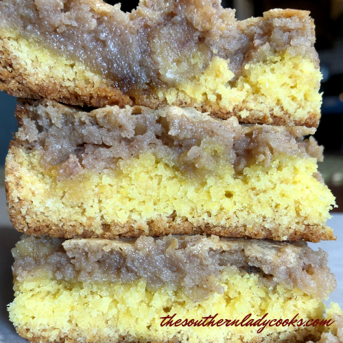 Brown Sugar Cake Mix Bars Gluten Free