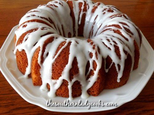 Fabulous Lemon Cake - The Southern Lady Cooks
