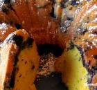 EASY LEMON BLUEBERRY BUNDT CAKE