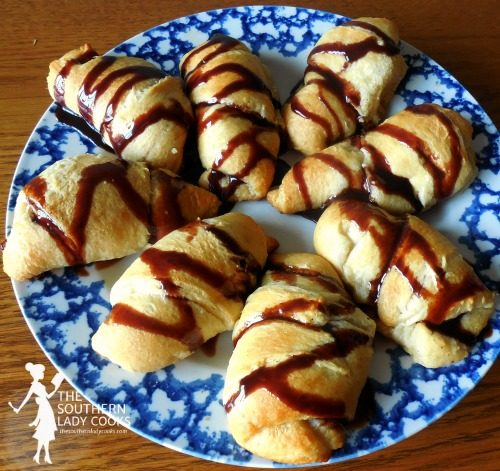 Peanut Butter Banana Crescents