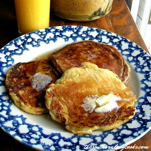 Buttermilk Pancakes - The Southern Lady Cooks