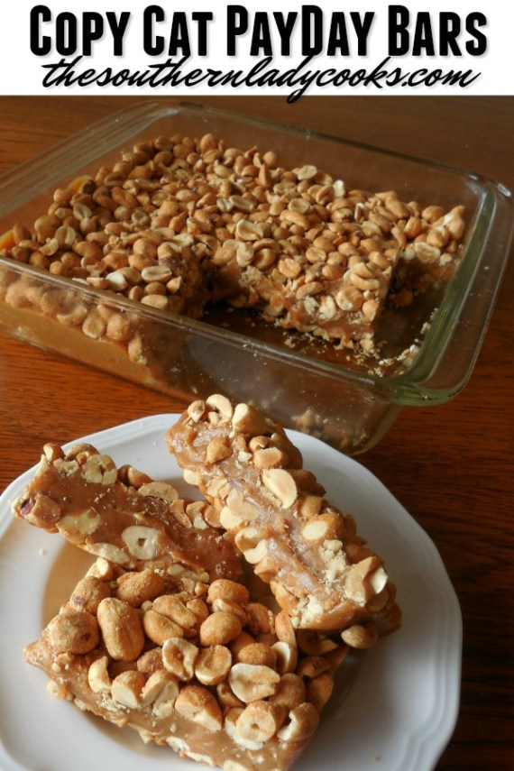 Copy Cat PayDay Bars