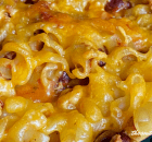 EASY CHILI PASTA BAKE