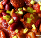 ANDOUILLE SAUSAGE AND BEANS – Crock Pot Recipe