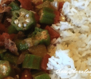 TOMATOES AND OKRA – Southern Style