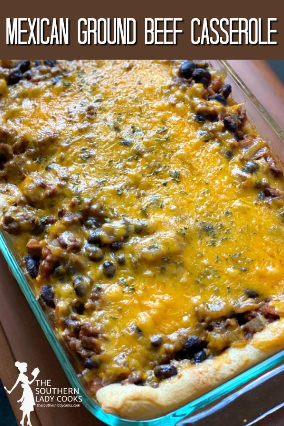 Mexican Ground Beef Casserole
