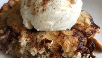 Cinnamon Pecan Cobbler - The Southern Lady Cooks