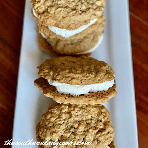 Spiced Oatmeal Cream Pies The Southern Lady Cooks
