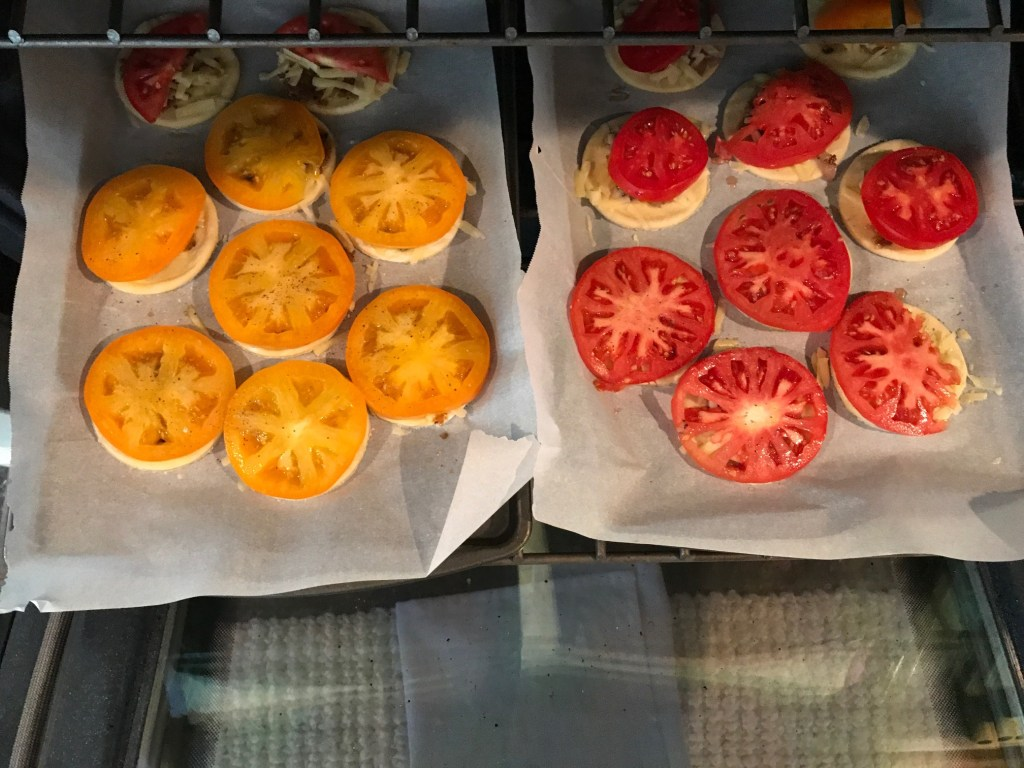 how to bake tomato tarts