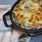 spinach artichoke dip reicpe using 8 ingredients