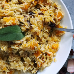 autumn rice recipe