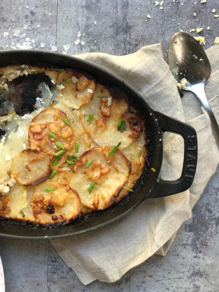 potatoes au gratin recipe for two