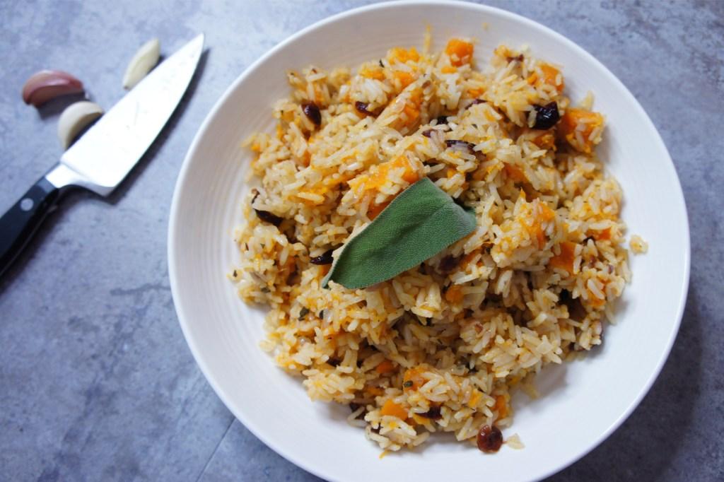 Fall Rice Recipes