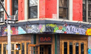 East Village Bar in New York City