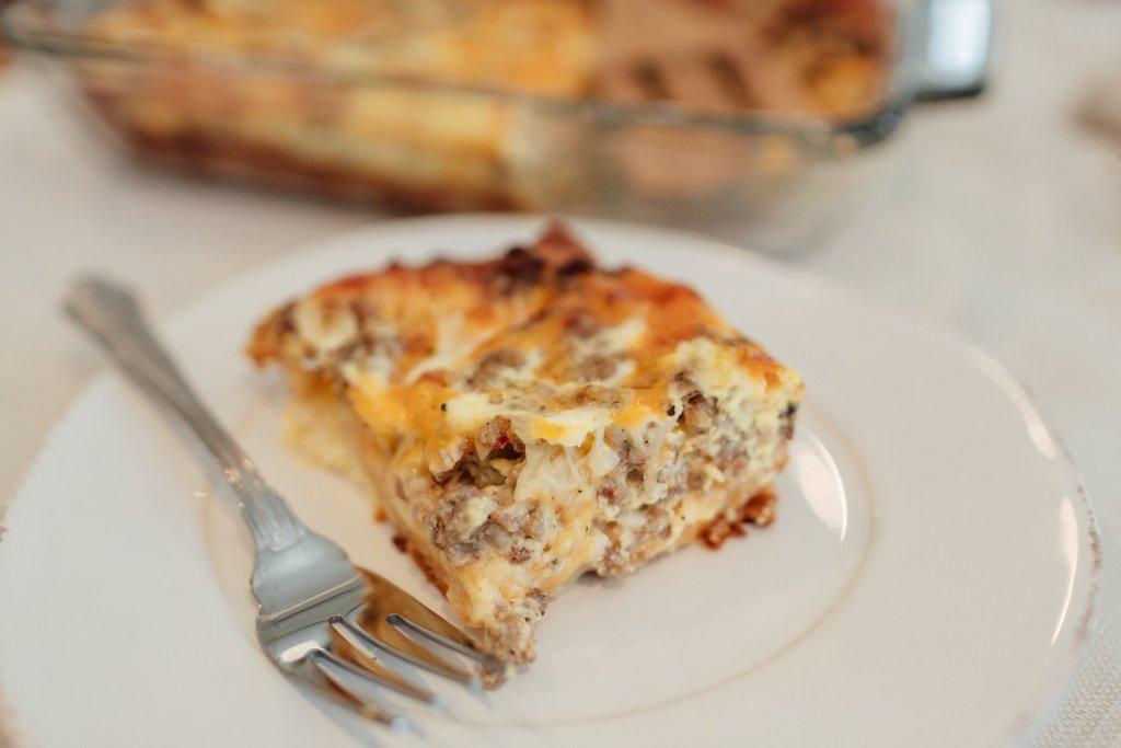 sausage and egg breakfast casserole recipe